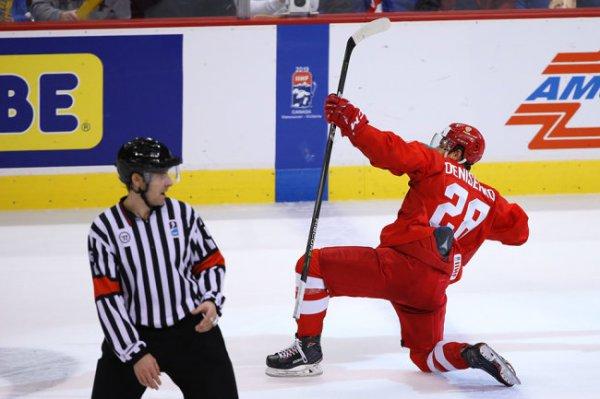 Хоккеисты России вышли в полуфинал Рождественского турнира в Минске