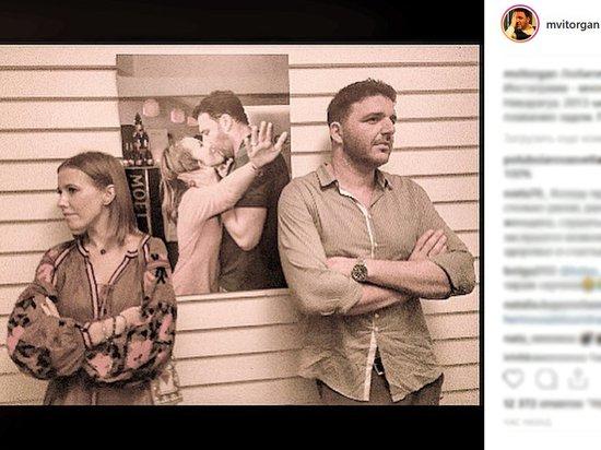 Любовное фото Собчак и Виторгана оказалось фейком
