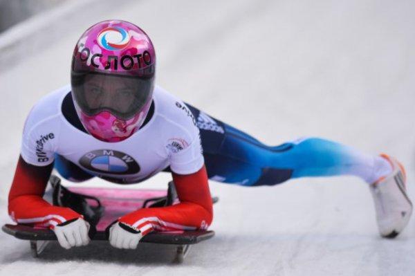 Скелетонистка Никитина стала серебряным призером чемпионата Европы