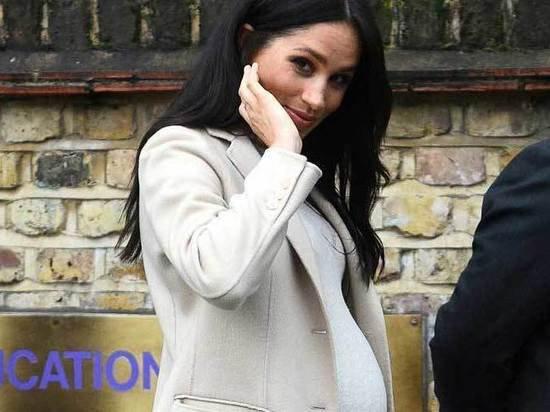 Англичане засомневались в беременности Меган Маркл