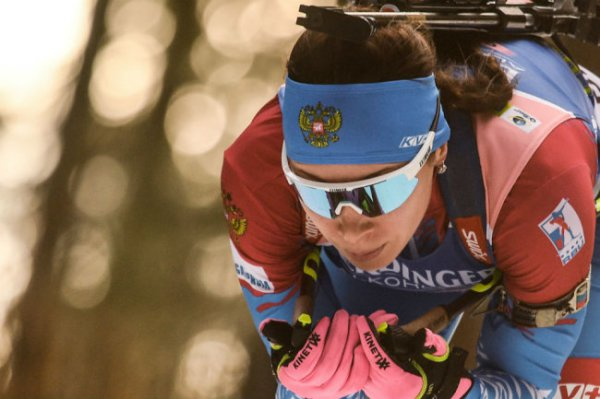 Россиянки заняли пьедестал в пасьюте на Кубке IBU