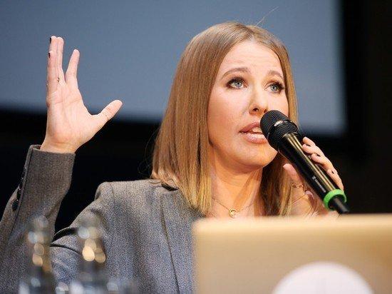 Собчак нецензурно объяснила скандал на НТВ