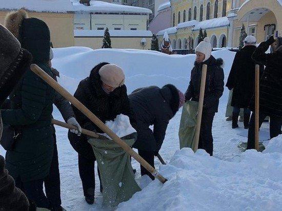 В Госдуме прокомментировали фото с учителями, убирающими снег