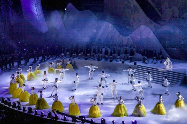 В Корее прошел фестиваль, посвященный Олимпиаде в Пхенчхане
