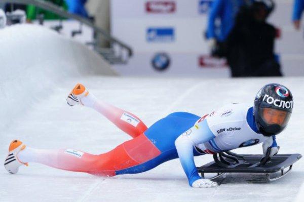 Скелетонист Третьяков выиграл этап Кубка мира в США