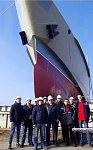 На СЗ «Залив» спущено на воду судно проекта А163