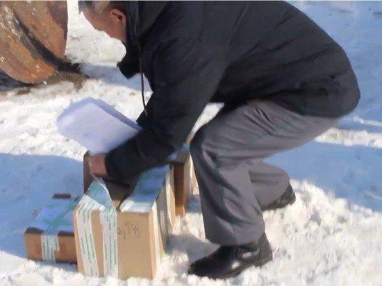 В Саратове чиновник зачитал приговор сыру и сжег санкционку