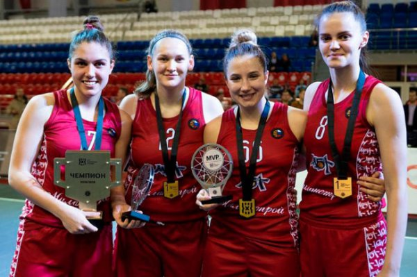 Чемпионами России по баскетболу 3х3 стали команды