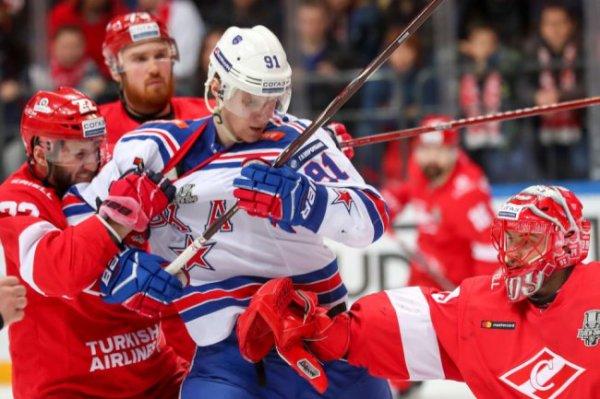 СКА размочил счет в серии плей-офф КХЛ со