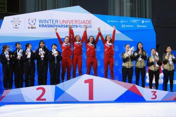 Россияне выиграли 7 золотых медалей в шестой день Универсиады
