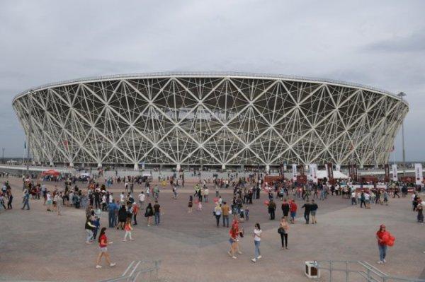 Стадион в Волгограде стал лучшей футбольной ареной 2018 года