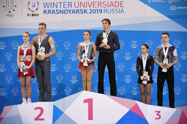 Россия обновила медальный рекорд зимних Универсиад
