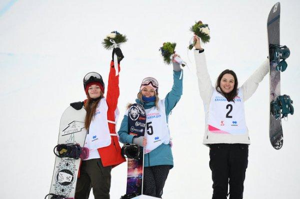 Российские сноубордисты завоевали два