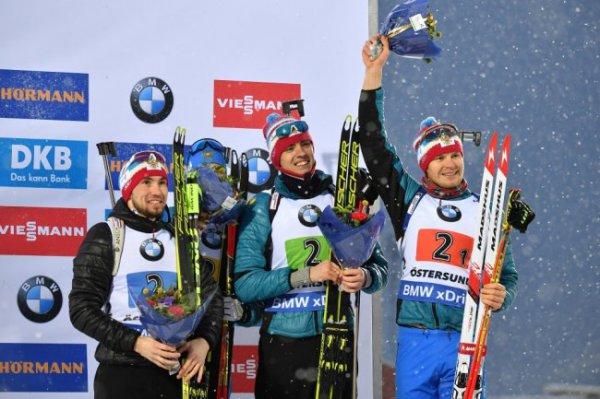 Российские биатлонисты завоевали