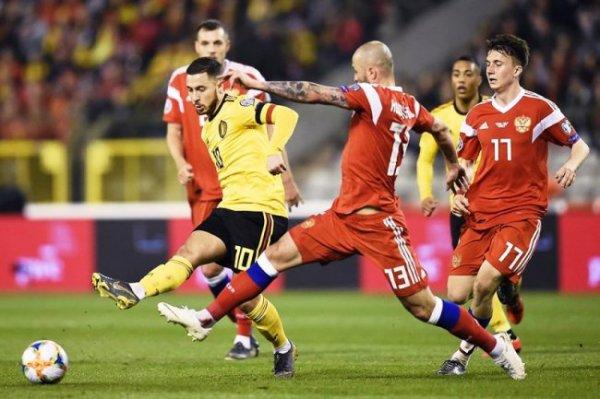 Сборная Бельгии поблагодарила сборную России за чистую раздевалку