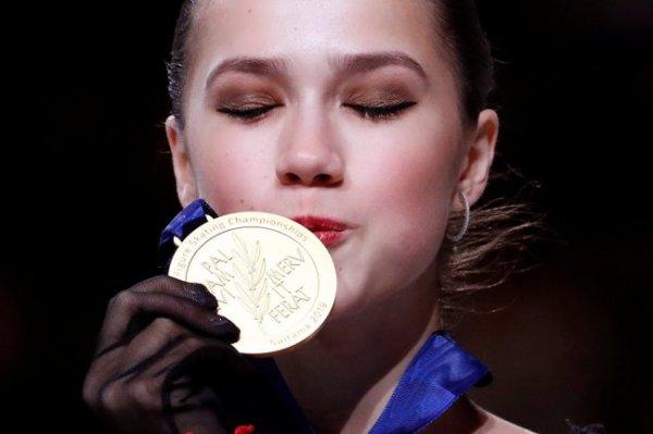 Алина Загитова: Я знала, что на чемпионате мира мне нужен чистый прокат