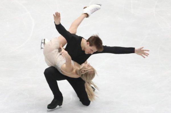 "Синицина и Кацалапов взяли ""серебро"" ЧМ в танцах на льду"