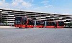 Самый длинный электрический автобус в мире способен перевозить 250 пассажиров за раз