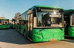 В Тюмень поступили 42 новых автобуса ЛиАЗ