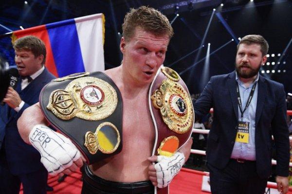 Александр Поветкин опроверг слух об отказе от боя с Уайтом