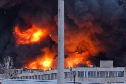 Пожар на заводе-производителе ракет «Сармат» резко разросся