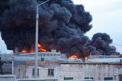 Стала известна судьба ракет «Сармат» на горящем заводе