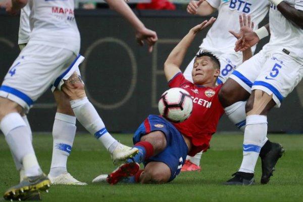 ЦСКА избежал поражения в матче с