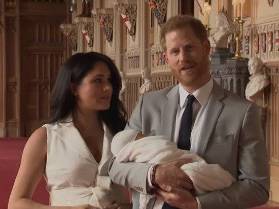 Стало известно имя ребенка принца Гарри и Меган Меркл
