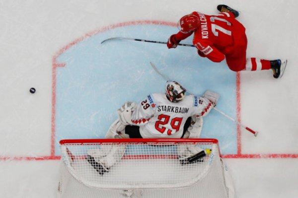 Сборная России начала чемпионат мира по хоккею с уверенных побед