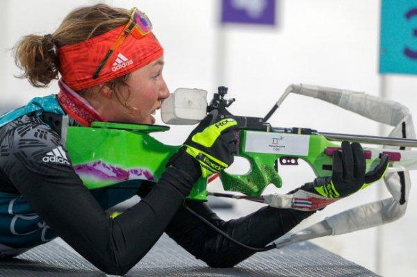Немецкая биатлонистка Дальмайер завершила карьеру в 25 лет