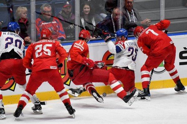 Воробьев опроверг слухи в словацких СМИ о пьющих российских хоккеистах