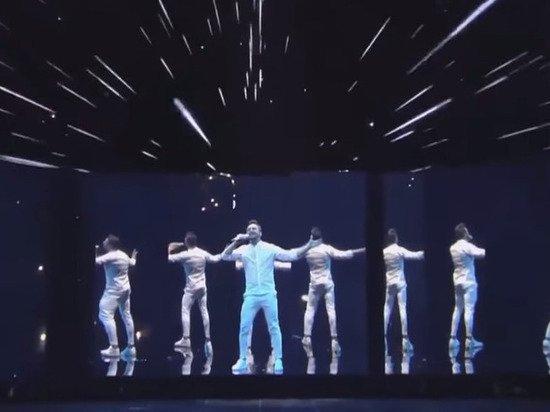 Лазарев выступил на Евровидении