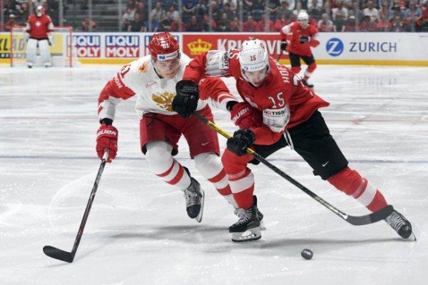 Сборная России 21 мая сыграет с командой Швеции на ЧМ по хоккею