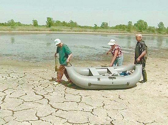 Волга потеряла берега