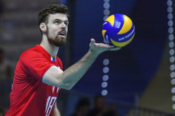 Российские волейболисты завершили этап Лиги наций победой над Сербией