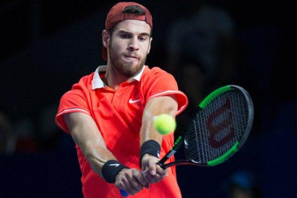 Карен Хачанов проиграл в четвертьфинале