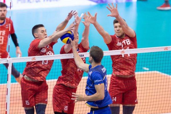 В Уфе стартует домашний этап мужской волейбольной Лиги наций