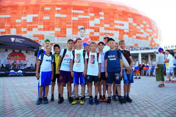 Глава Мордовии обсудил с Черчесовым развитие детского футбола