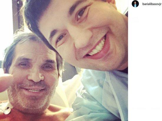 Сын Алибасова опубликовал первое фото отца после комы