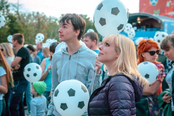 В Саранске соберут гигантский футбольный мяч из людей