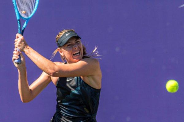 Мария Шарапова выиграла в своем первом матче после травмы