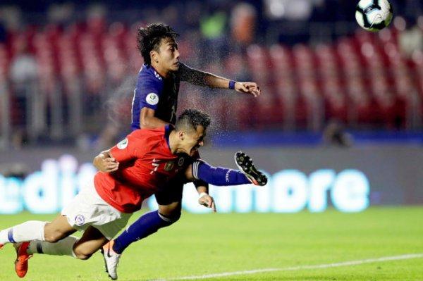 Сборная Чили разгромила Японию на Кубке Америки
