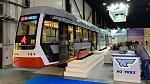 Новый низкопольный трамвайный вагон «Челябинский метеор»
