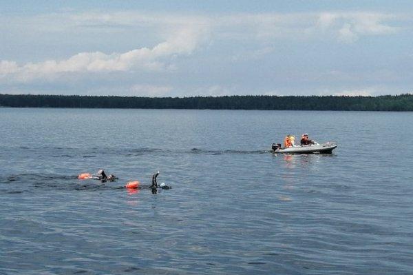 Немецкий спортсмен переплывет в Карелии Онежское озеро