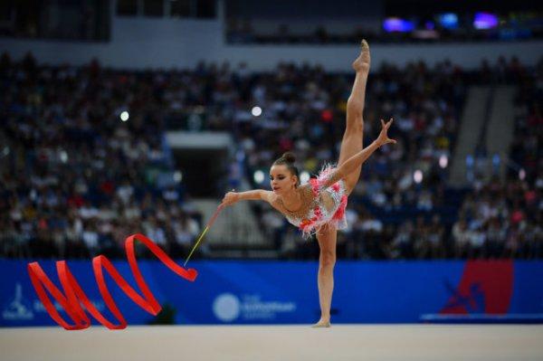 Дина Аверина стала трехкратной чемпионкой Игр в Минске