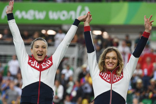 Велогонщицы Войнова и Шмелева завоевали золото Европейских игр на треке