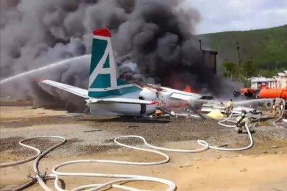 Выживший при крушении Ан-24 пассажир рассказал о спасении