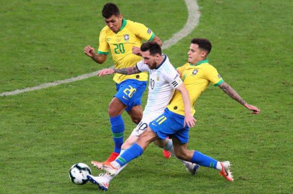 Месси: Бразилия была не лучше нас