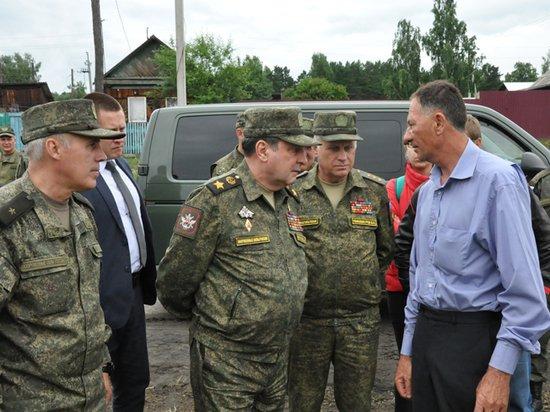На помощь пострадавшим от наводнения в Тулуне бросили армию