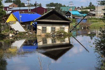 Между наводнением в Тулуне и пожарами в Сибири нашли связь